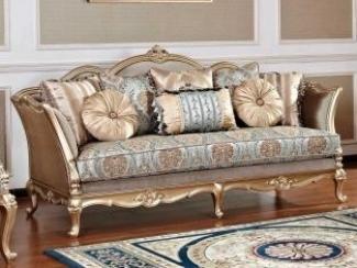 Прямой диван Отелло  - Импортёр мебели «Аванти»