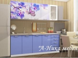 Кухня прямая 1.6 метр Аника 10 - Мебельная фабрика «А-Ника», г. Ульяновск