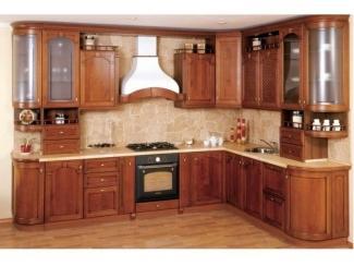 Кухни из фасада массив дерева  - Мебельная фабрика «Sk-Мебель»