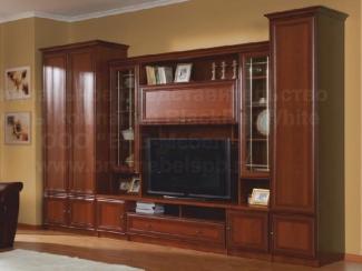 Гостиная стенка Ричмонд - Импортёр мебели «БРВ-Мебель (Black Red White)»