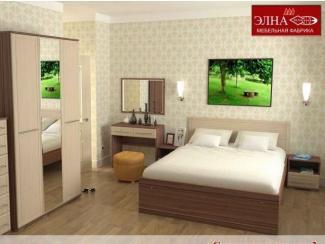 Спальный гарнитур Квадро вариант 3 - Мебельная фабрика «Элна»