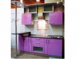 Яркая кухня Каролина с барной стойкой - Мебельная фабрика «Мебель Цивилизации»
