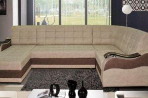 Угловой диван Катрин 9 (П) с оттоманкой