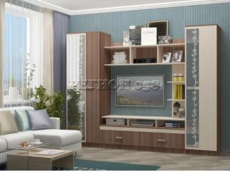Стенка в гостиную Флора 2 - Мебельная фабрика «Регион 058»