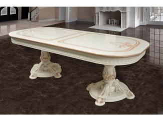 Стол обеденный 228 с рисунком - Мебельная фабрика «Виктория», г. Ульяновск