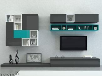 Гостиная стенка Sibox B013 - Мебельная фабрика «Астрон»