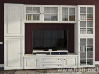 Белая модульная гостиная Гавана  - Мебельная фабрика «Фран»