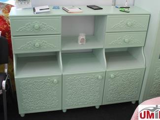 Мебельная выставка Краснодар: Стол - тумба - Мебельная фабрика «Компасс»