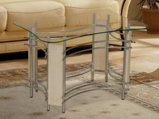 Стол журнальный из стекла - Мебельная фабрика «Версаль»