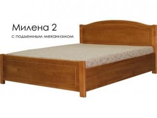 Кровать Милена 2 с подъемным механизмом - Мебельная фабрика «Массив»