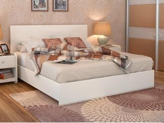 Кровать с подъемным механизмом Maya Экотекс White - Мебельная фабрика «Askona»