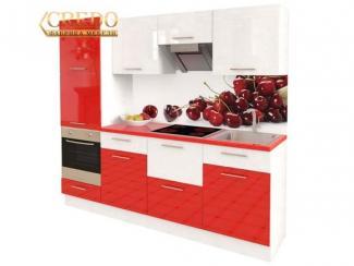 Кухня прямая Эмаль глянец - Мебельная фабрика «Кредо»