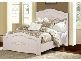 Белая кровать Ника - Мебельная фабрика «Август»