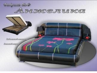 Оригинальная кровать Анжелика - Мебельная фабрика «ВЭФ»