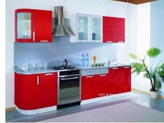 Новая красная кухня Ирина - Мебельная фабрика «А-Ника», г. Ульяновск