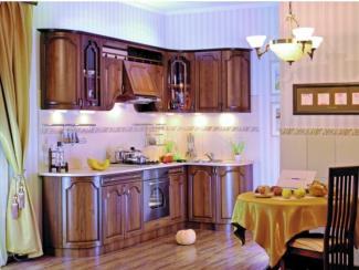 Кухня угловая Ада орех - Мебельная фабрика «Эра»