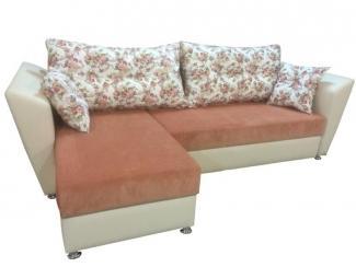 Тканевый диван с оттоманкой  - Мебельная фабрика «Гарни», г. Волгоград