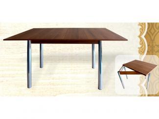Стол-книжка большой на металлокаркасе - Мебельная фабрика «Кипарис»