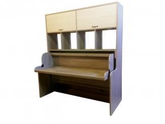 Трансформер стол-кровать Юнга с полками и антресолью - Мебельная фабрика «Мебель от БарСА»