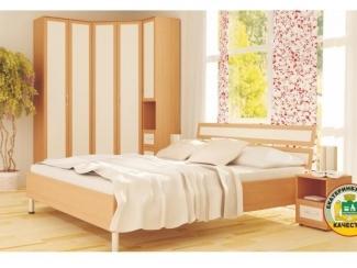Простая спальня Ремика  - Мебельная фабрика «Аллоджио», г. Верхняя Пышма