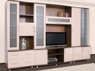 Гостиная стенка Милена Мокко - Мебельная фабрика «Вестра»