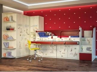 Детская модульная Актив 7 - Мебельная фабрика «Сканд-Мебель»