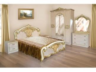 Красивый спальный гарнитур Каролина  - Мебельная фабрика «Виктория»