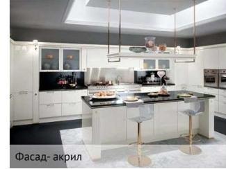 Белая угловая кухня - Мебельная фабрика «Тринити»