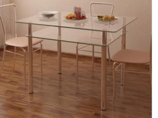 стол обеденный Рио 4 стекло - Мебельная фабрика «Аквилон»