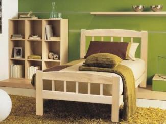 кровать массив 2 - Мебельная фабрика «Алина-мебель»