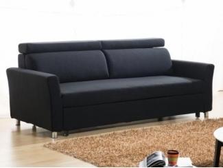 Черный диван Трансформер  - Импортёр мебели «CОMMODA (Китай, Таиланд)», г. Москва