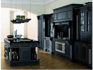 Идеальная кухня в черном цвете  - Импортёр мебели «Riboni Group (Италия)»