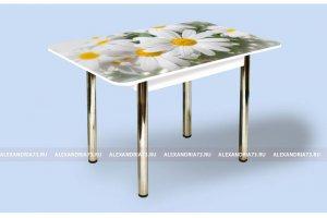 Стол стеклянный Прямоугольный ЧС 09 - Мебельная фабрика «Александрия», г. Ульяновск