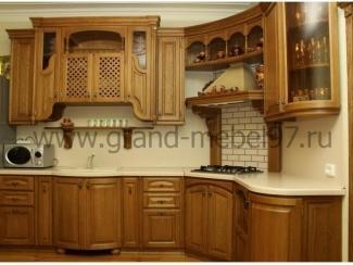Кухня массив 04 - Мебельная фабрика «Гранд Мебель»