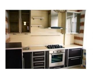 Небольшая прямая кухня  - Мебельная фабрика «Папа Карло»