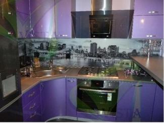 Фиолетовая кухня Натали