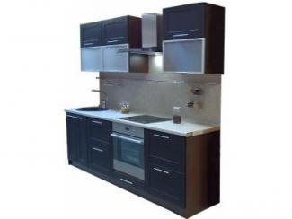 Кухонный гарнитур прямой Венге - Мебельная фабрика «Петербургская мебельная компания (ПМК)»
