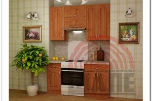 Кухня небольшая Бета-Гарвард - Мебельная фабрика «ВМК-Шале»