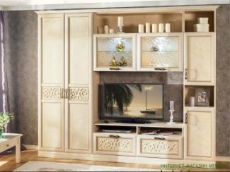 гостиная стенка Александрия - Мебельная фабрика «Любимый дом (Алмаз)»