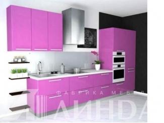 Кухня Глосс МДФ, ПВХ Виолетта глянец - Мебельная фабрика «Линда»