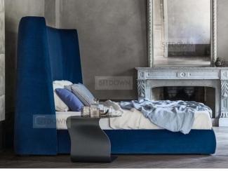 Кровать с высоким изголовьем  Альто - Мебельная фабрика «Sitdown», г. Москва