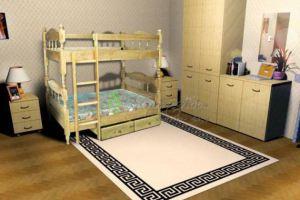 Детская Двухъярусная кровать 3 - Мебельная фабрика «Верба-Мебель»