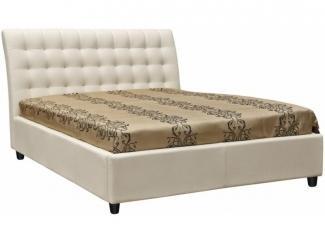 Мягкая двуспальная кровать Баунти  - Мебельная фабрика «Пинскдрев»