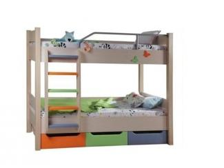 Кровать двухъярусная Радуга - Мебельная фабрика «Сходня Мебель», г. Химки