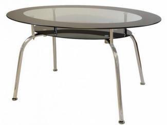 Стол стеклянный овальный 1612 - Импортёр мебели «МебельТорг»