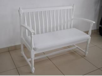 Скамейка для прихожей с мягким сиденьем  - Салон мебели «Версаль»