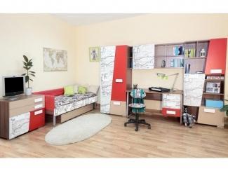 Яркая мебель для детской комнаты - Мебельная фабрика «38 попугаев»