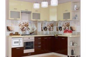 Кухонный гарнитур Латте  - Мебельная фабрика «Славные кухни (ИП Ларин В.Н.)»