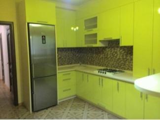 Салатовая угловая кухня - Мебельная фабрика «Альфа-Мебель»