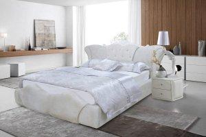 Белая ортопедическая кровать Эмилия - Мебельная фабрика «Сарма»